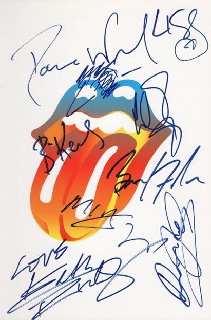Cahier des Rolling Stones