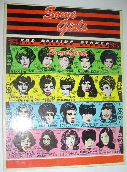 Some Girls, Recueil original de chansons