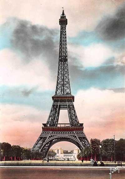 En Flanant, La Tour Eiffel