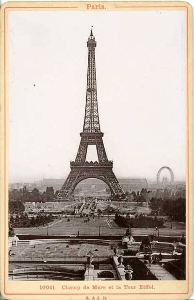 Le Champ de Mars et la Tour Eiffel