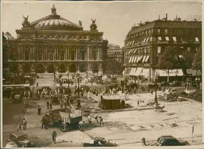 Place de l'Opéra Garnier