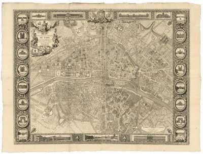 Plan de la Ville dédié au Roi