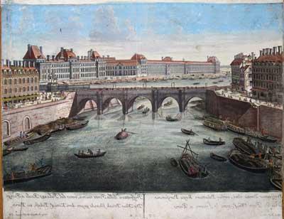 Pont Neuf et le Louvre