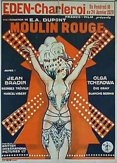 Affiche film Moulin Rouge