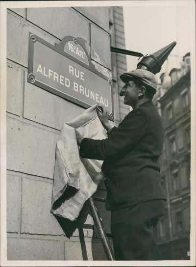 Paris, rue Alfred Bruneau