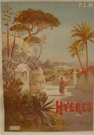 Affiche PLM - Hyères