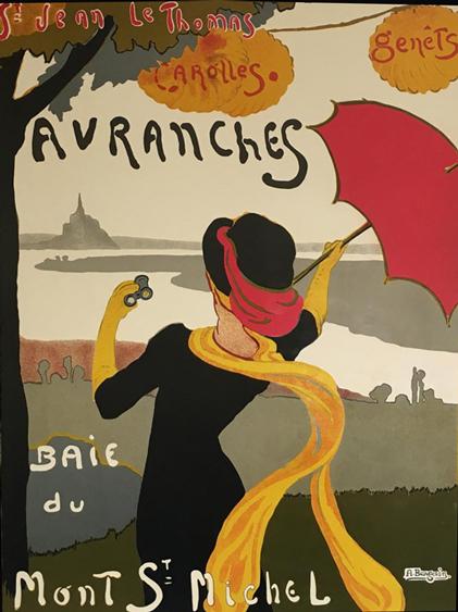Affiche : Avranches baie du Mont St-Michel