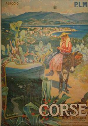 Affiche PLM - Corse