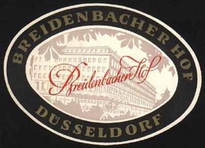 Breidenbacher Hof - Düsseldorf
