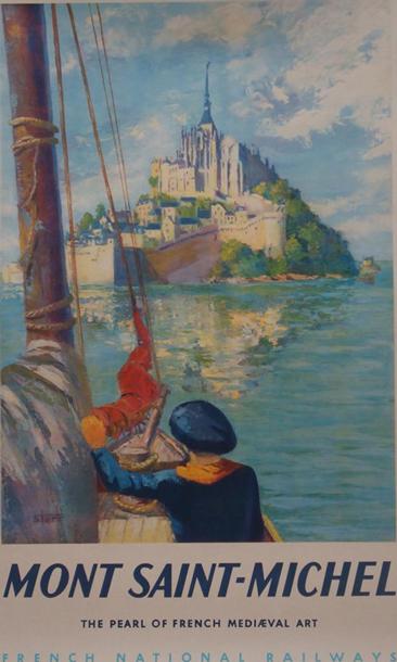 Affiche SNCF - Mont Saint Michel