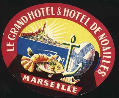 Grand Hotel de Noailles - Marseille