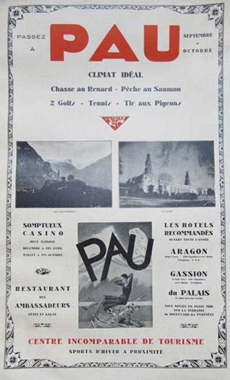 Pau : Ville de tourisme
