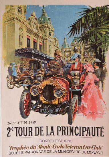 Affiche : 2ème Tour de la Principauté - Monte Carlo