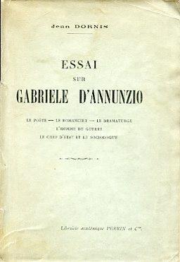 Essai sur Gabriele D'Annuzio