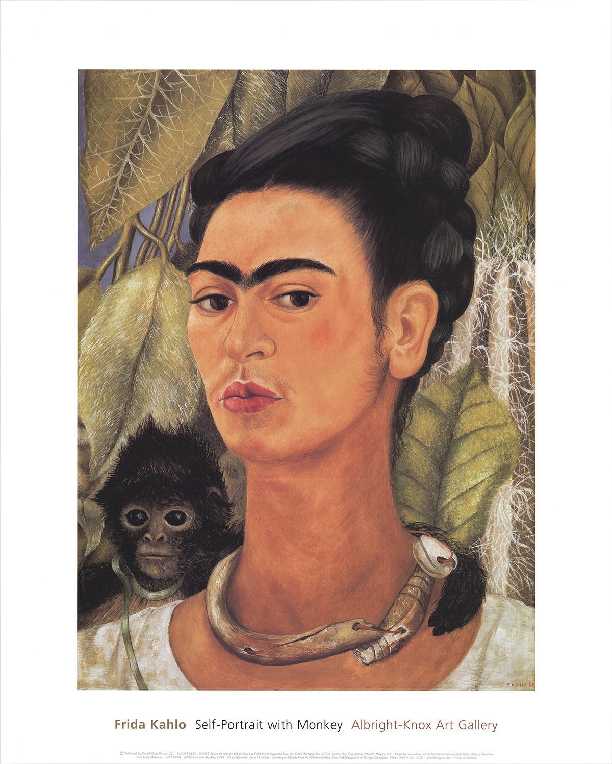 Autoportrait avec un singe I