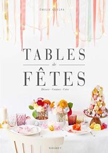 Tables de fêtes de Emilie Guelpa