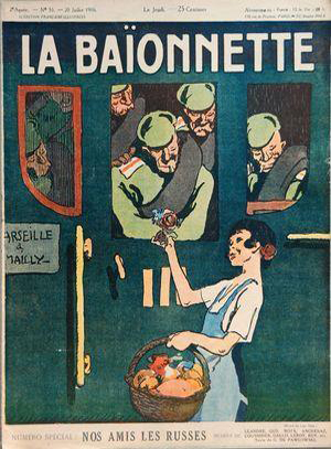 La Baïonnette, N°55 du 20 juillet 1016