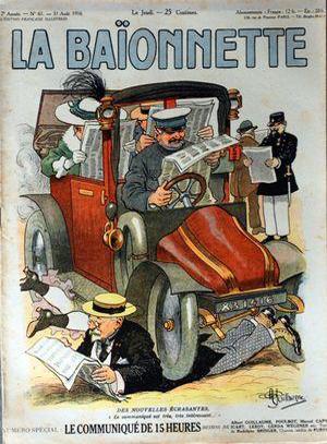 La Baïonnette, N°61 du 31 août 1916