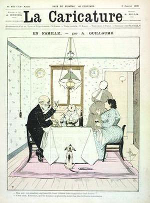 La Caricature n°575, 3 juillet 1891