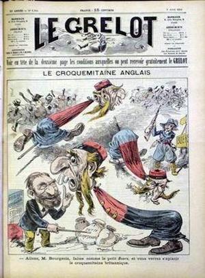 Le Grelot n°1304, 5 avril 1896