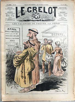 Le Grelot n°419, 1879