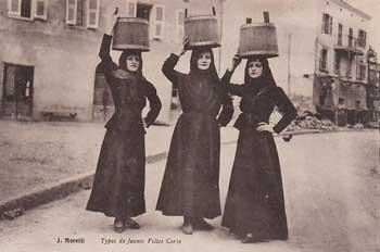 Trois filles corses