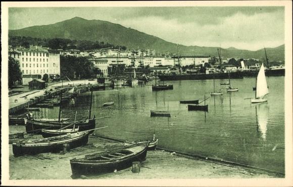 Ajaccio Corse du Sud, Vue generale des Quais