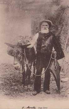 Un âne et un vieillard