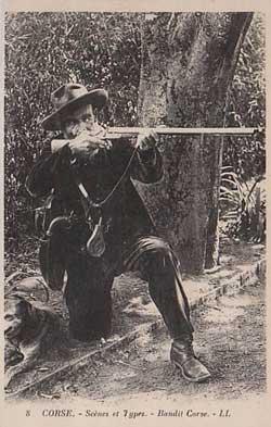 Bandit corse armé