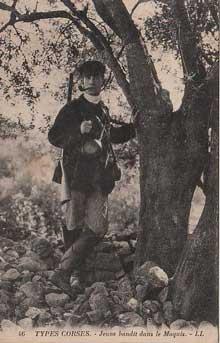 Jeune bandit dans le Maquis
