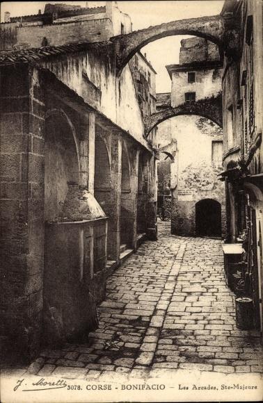 Bonifacio Corse du Sud, Les Arcades, Ste. Majeure