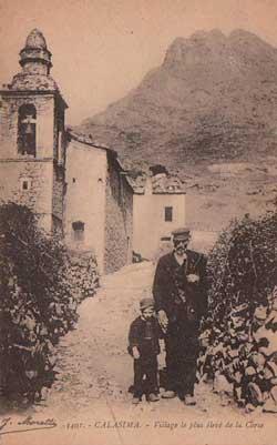 Calasima - Le village le plus élevé de la Corse