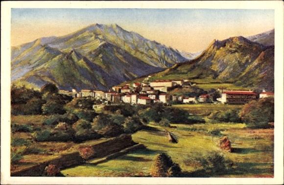 Haute Corse- vue panoramique