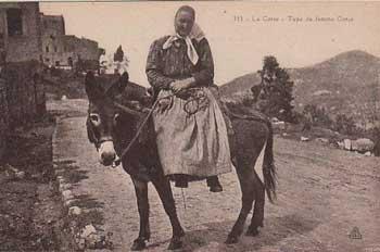 Femme corse