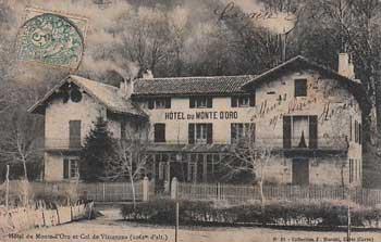 Hôtel du Monte d'Oro et Col de Vizzavona