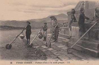 Porteurs d'eau à la mode grecque