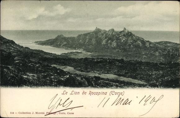 Corse du Sud, Le Lion de Rocapina