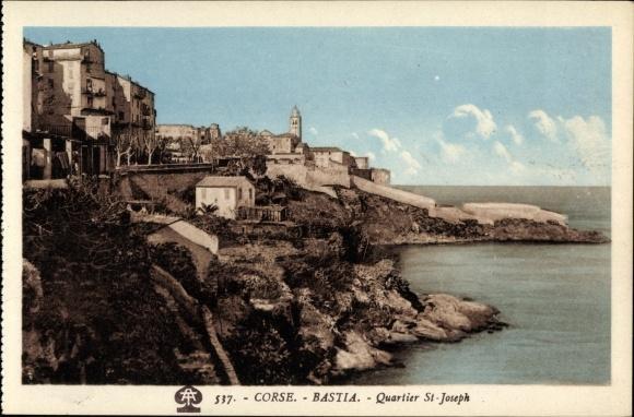 Bastia, quartier St-Joseph