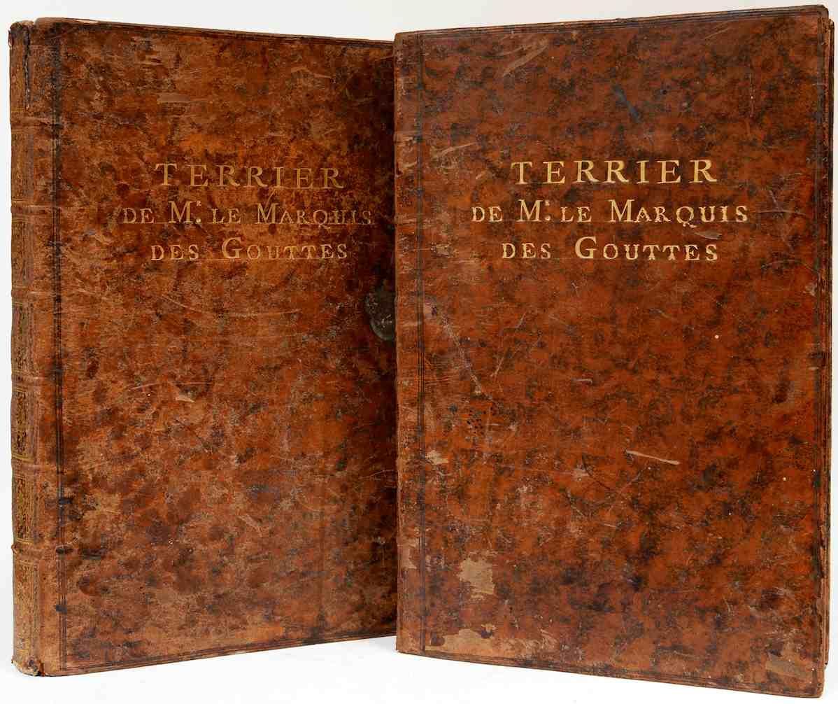 Terrier de Mr. le Marquis des Gouttes