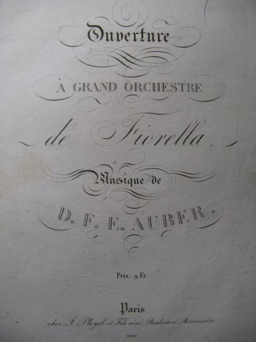 Auber, Fiorella