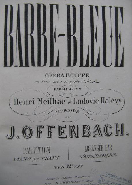 Offenbach, Barbe Bleue