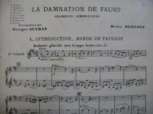 Berlioz, La damnation de Faust