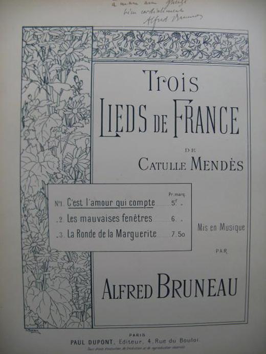 Bruneau, C'est l'amour qui compte