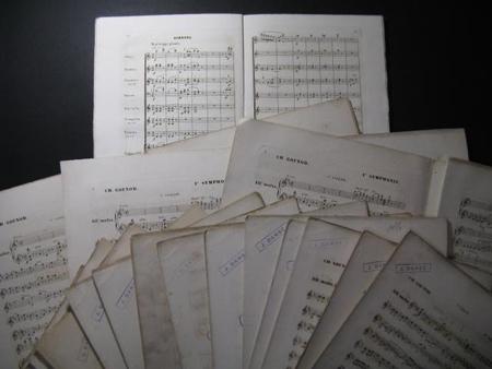 Partitions anciennes de Gounod