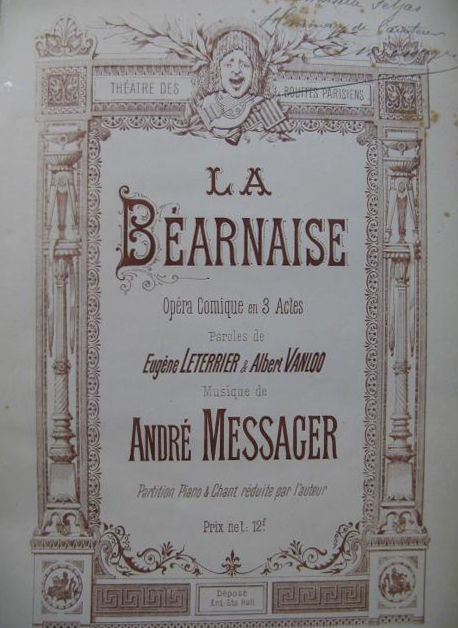 Messager, La Béarnaise