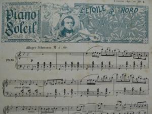 Piano Soleil, recueil pour piano