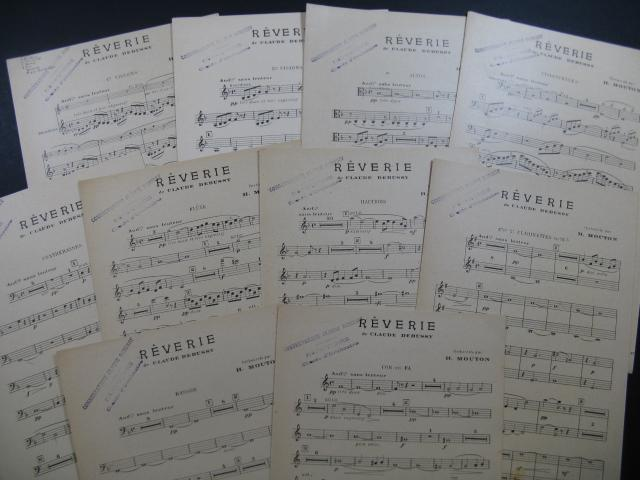 Partitions anciennes de Debussy, Rêverie