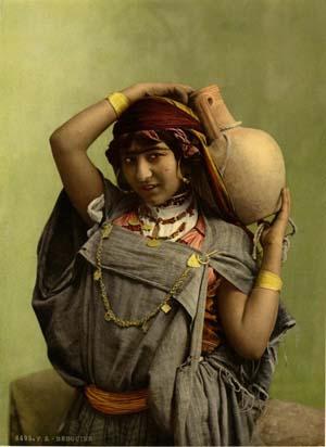 Une femme bédouine