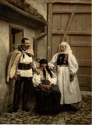Des indigènes de Hammersdorf, Allemagne