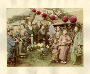Femmes japonaises & un homme
